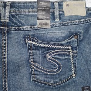 Siliver Aiko womens jeans size 24 plus -373/374-